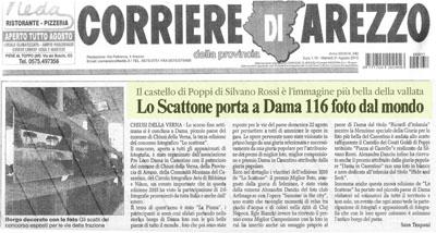 Corriere di Arezzo - 31 Agosto 2010 - Lo Scattone 2010