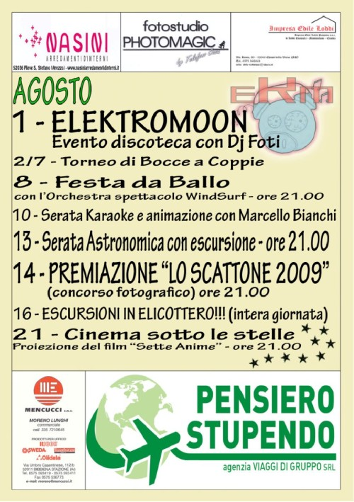 Programma Estate Damarina 2009 5