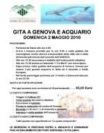 Gita acquario genova e centro storico