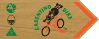 cartello casentino bike MTB