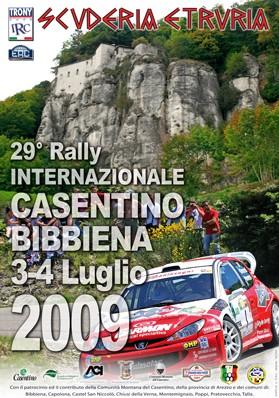 rally casentino 2009